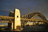 Dusk of Harbour Bridge Stock photo [1741823] Bridge