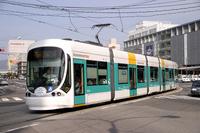 [Hiroshima] Green Mover max Stock photo [1743523] Tram