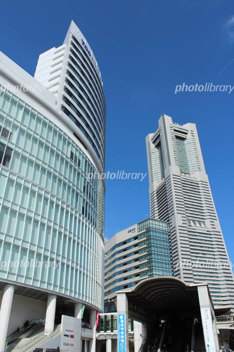 Yokohama, high-rise building Photo