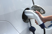 Charging of electric vehicles Stock photo [1815072] Eco-car