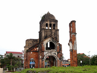 Dong Hoi-Tamutoa church which was destroyed in the Vietnam War Central America military air strikes Stock photo [1824381] Vietnam