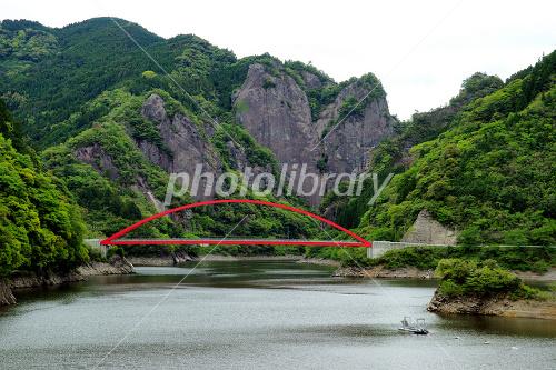 Hinata Kamikai Kehogi Bridge and Heart rock Photo
