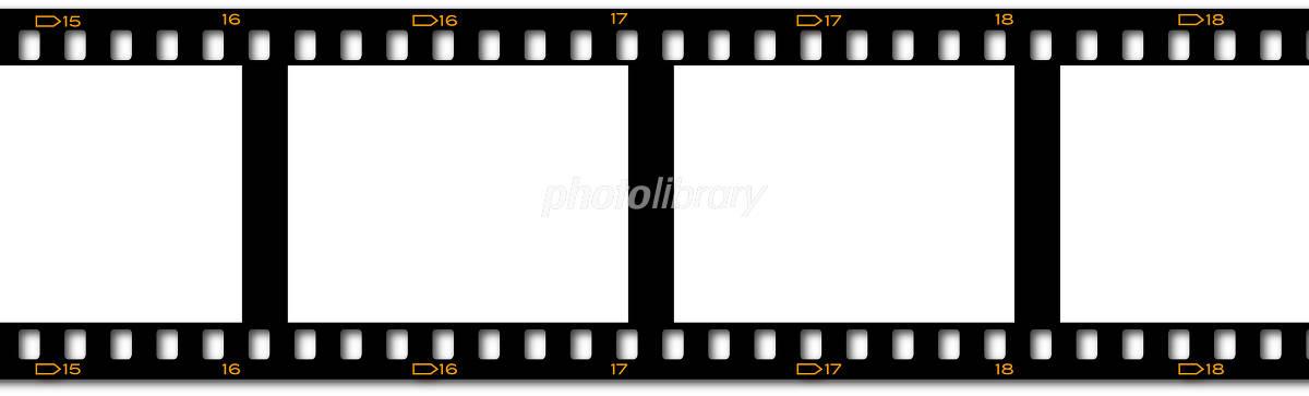 写真フィルム テンプレート イラスト素材 [ 1934420 ] - フォトライブ ...