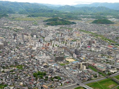 鳥取市の街並み 写真素材 [ 1937...