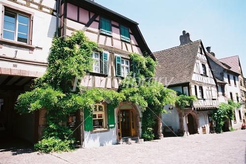 France Alsace Rikuvu~iru streets of Photo