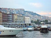 Naples harbor and the city skyline Stock photo [1936155] Naples