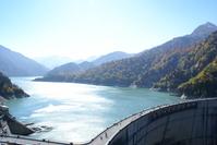 Kurobe Dam autumn leaves Stock photo [56245] Toyama