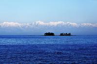 Sea past the Tateyama mountain range Stock photo [2034986] Horsefly
