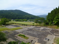 Scenery as seen from one square Gokseong Asakura Museum traces Stock photo [2035574] One