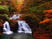 Autumn Akameshijuhattaki Stock photo [2037645] Akame