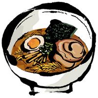 Nitamago containing soy sauce ramen [2039544] Ramen