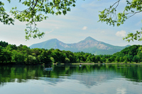 Bandai and Lake Hibara Stock photo [2042458] Summer