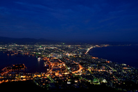 Hakodate night view visible from Mount Hakodate Stock photo [2134068] Hakodate