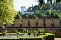 Henerarife from Alhambra Stock photo [2134583] The