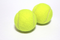 Two tennis balls Stock photo [2136394] Tennis