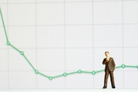 Graphs and businessman Stock photo [2140312] Club