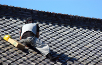 Repair of roof Stock photo [2143285] Roof