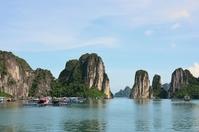 Halong Bay, Vietnam Stock photo [2144874] Vietnam,Hanoi,Halong