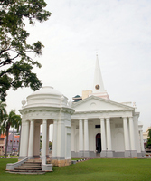 World Heritage St. George Church of Penang Island and Georgetown Stock photo [2146738] St.