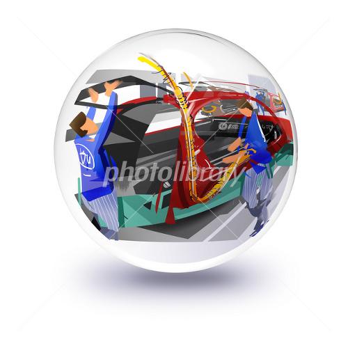 自動車生産ライン-写真素材 自動車生産ライン 画像ID 2253802  自動車生産ライン