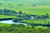 Meandering Kushiro River Stock photo [2249462] Prairie