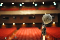 Stage of microphone Stock photo [2250876] Mike