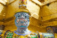 Those who support the pagoda of the Royal Palace Stock photo [2252231] Bangkok