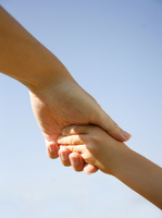Holding Hands parent-child Stock photo [2256961] Hand