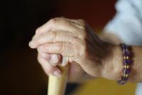 Grandma's hands and cane Stock photo [2258282] Grandma