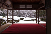 Of snow Shisen-dō Stock photo [2258798] Snow