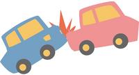 交通事故のイラスト素材