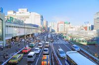 Shinjuku Station south exit of Cityscape Stock photo [2260638] Shinjuku