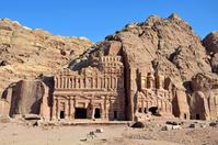 Petra of royal tomb Stock photo [2261743] Royal