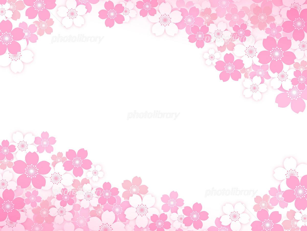 Sakura background イラスト素材