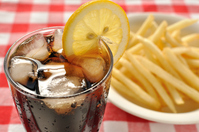 Coke and fries Stock photo [2376976] Cola