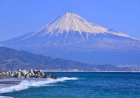 Fuji from Miho coast Stock photo [2382981] Mt.