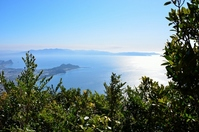 Tanegashima seen from Kaimondake summit Stock photo [2389151] Island