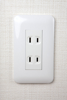 White outlet Stock photo [2389531] White