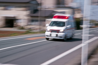 Panning ambulance Stock photo [2391127] One