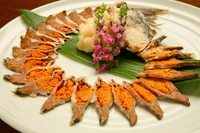 Funa-zushi stock photo