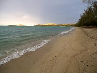 夕方のディンゴビーチ