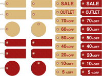 Tag sale net shop icon [2500235] Tag