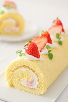 Roll cake Stock photo [2502338] Sweet