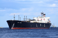 Liquefied petroleum gas tanker Stock photo [2502424] Boat