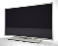 TV monitor white [2503709] Tv