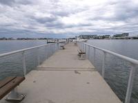 エスプラネードパークの桟橋