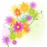 Flower background [2505423] Gerbera
