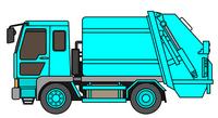 Garbage Truck [2507772] Garbage