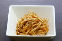 Kinpira of radish skin Stock photo [2511073] Kinpira