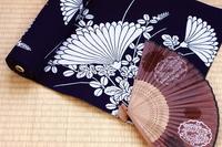Yukata of cloth and a sense Stock photo [2511440] Cloth
